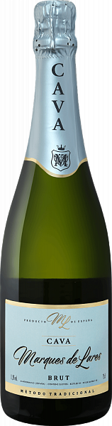 Marques de Lares Brut Cava DO Lopez Morenas, 0.75л