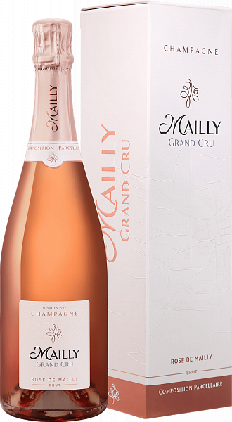 Mailly Grand Cru Rose de Mailly Brut Champagne AOC (gift box), 0.75л