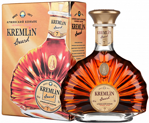 KREMLIN AWARD 7 Years (gift box), 0.5л